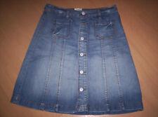 """Toller Jeans-Rock, vorn durchgehend geknöpft, von""""H&M"""", blau, neuw. Gr. 38"""
