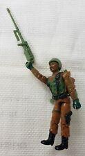 "Vintage 1984 Roadblock Heavy Machine Gunner  Hasbro 3.75"" GI JOE ARAH Figure"