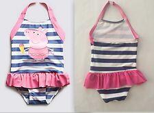 New baby girls peppa pig tutu swimsuit costume 12-18 18-24 2-3 3-4 4-5 5-6 6-7