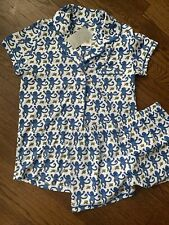 New!!!  Roller Rabbit Pajamas Monkey Size Small