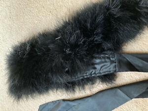 Faux Feather stole by La Senza