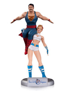 761941337975 DC COLLECTIBLES COMICS BOMBSHELLS POWER GIRL AND SUPERMAN