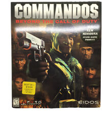 Commandos: Beyond The Call Of Duty - Eidos Interactive - PC Big Box Game - New