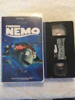 Walt Disney's Pixar Finding Nemo (VHS, 2003)