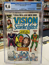 VISION and the SCARLET WITCH V2 #12 (Comics, 1986) CGC 9.6 ~ White Pages