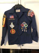 Vintage Webelos Shirt Badges & Pinbacks ~ 1980's ~ ~ Boy Scouts