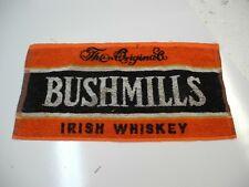 vintage Bushmills bar towel