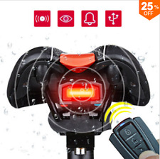 ANTUSI 3 in 1 Bicycle Wireless Rear Light Cycling Remote Control Alarm Lock Fixe