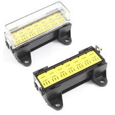 Relay Box 7 Way for Micro Relays Holder / Block 12v / 24v Car HGV 4 Pin 5 Pin