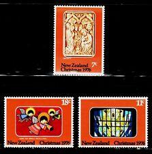 SELLOS NAVIDAD NUEVA ZELANDA 1976 672/74 3v.