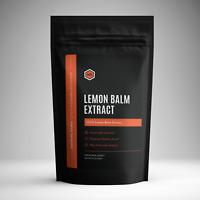 Organic Lemon Balm Extract Powder (100g) - Melissa Officinalis
