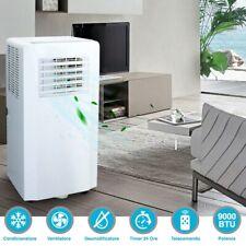 Condizionatore Ventilatore Portatile Climatizzatore Aria Condizionata 9000 BTU