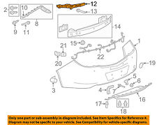 Buick GM OEM 11-13 Regal Rear Bumper-Inner Bracket Left 20993950