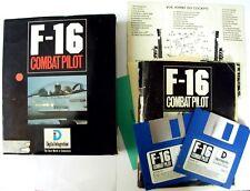 F16 COMBAT PILOT - jeu / game for ATARI ST / STF / STE / MEGA / FALCON