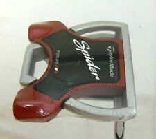 "Brand New Taylormade Spider Tour Platinum 34"" Putter 34 inches Long Silver & Red"