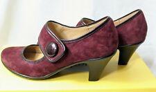 Softspots Studio Crimson Suede SOFT COMFORTABLE Women Shoes size 6M High heel