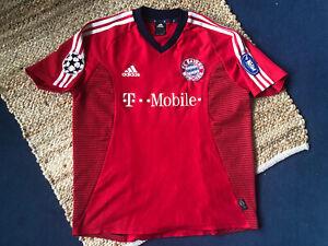 Original FC Bayern München Trikot T-Mobile Spieler: Michael Ballack Mit Patches