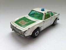 Matchbox Superfast Nr. 45 BMW 3.0 CSL weiss Polizei made in England