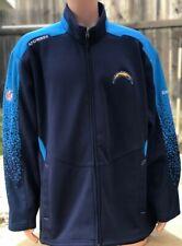 Reebok Men's XL Los Angeles San Diego Chargers Full Zip AFC West Vintage Jacket