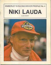 Niki Lauda by Alan Henry Pub Kimberley 1986 Driver Profile No 4