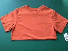 Boys Orange Cherokee Cotton Blend  T Shirt - Size M 8-10 - NWT