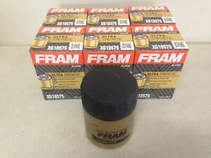 SIX(6) Fram Ultra Synthetic XG10575 Oil Filter CASE fits TG10575 PH10575 M1-212A