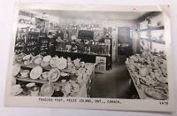 Vintage Trading Post Pelee Island Ontario Canada Postcard Rare