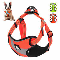 Dog Harness Medium Car Large Small No Pull XS Reflective Mesh Soft Truelove