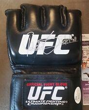 Claudia Gadelha Autographed Glove JSA Signed UFC PSA Autograph Topps MMA TUF