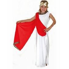 Girls Athena Roman Greek Toga Goddess Fancy Dress Costume Children Age 9 - 13