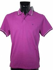 Champion Polo UOMO HERITAGE FIT NEW YORK BLU COTONE L PIQUET FASHION SPORT NUOVA