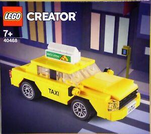 Lego Creator 40468 gelbes Taxi mit Werbetafel Auto PKW Fahrzeug RAR Neu