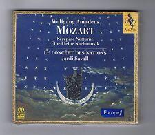 MOZART /SACD DSD HYBRID(SEALED)JORDI SAVALL SERENATE NOTTURNE