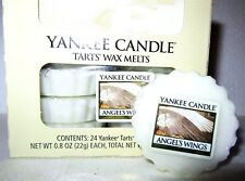 "Box Lot of 24 Yankee Candle ""ANGEL'S WINGS"" Festive Scented Tarts Wax Melts"