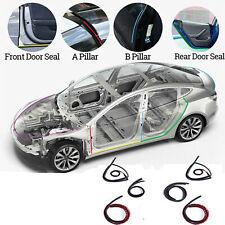 6x Für Tesla MODEL 3 / S / X Autotür Schallschutzleiste Windgeräuschreduzierung