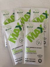 PRUVIT Keto OS Max Key Limeaid Caffeine FREE 5 Packets Limited Weight Loss