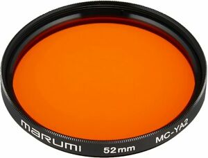 Filter for MARUMI camera MC-YA2 52mm black-and-white photographic ... From Japan