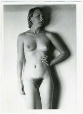 Photo Argentique Jeune Femme Nue Nude Modèle Pin Up Vers 1970/80
