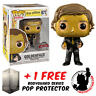 FUNKO POP THE OFFICE JIM HALPERT AS GOLDENFACE EXCLUSIVE + FREE POP PROTECTOR