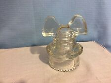 Clean Clear Hemingray 60 Mickey Mouse Insulator