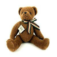 Ted D Bear Department 56 Brown Teddy Bear Plush Department56 Stuffed Animal