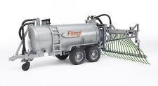 Bruder 02020 Fliegel Fassanhänger Güllefass Anhänger für Traktor Bworld