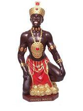"""12.5"""" Chango Macho Statue Orisha Santeria Lucumi African God Figure Shango"""