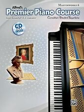 Premier Piano Course Masterworks, Bk 6: Correlated Standard Repertoire (Book & C