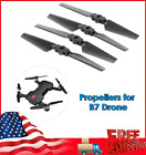 4X Drone Propellers RC Quacopter Blades Paddles fr MJX Bugs 7 RC Drone Part H6Q5
