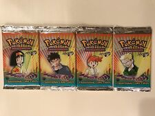 Pokemon 1st edition Gym Heroes Booster Pack - Factory Sealed!!..One Pack