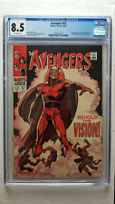 Avengers #57 CGC 8.5 VF+   1st Appearance of Vision