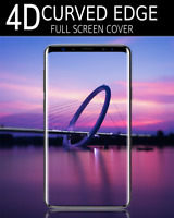 Clear TEMPERED GLASS FULL Coverage Screen Protector for Samsung Galaxy S9 Plus