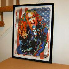 Madonna Singer Dancer Pop Rock Music Poster Print Wall Tribute Art 18x24