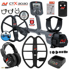 """Minelab Ctx 3030 Underwater Detector Holiday Bundle with 17"""" Dd Smart Coil"""